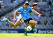 18 July 2021; Con O'Callaghan of Dublin in action against Fionn Reilly of Meath during the Leinster GAA Senior Football Championship Semi-Final match between Dublin and Meath at Croke Park in Dublin. Photo by Eóin Noonan/Sportsfile