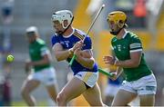 18 July 2021; Pádraic Maher of Tipperary in action against Tom Morrissey of Limerick during the Munster GAA Hurling Senior Championship Final match between Limerick and Tipperary at Páirc Uí Chaoimh in Cork. Photo by Piaras Ó Mídheach/Sportsfile
