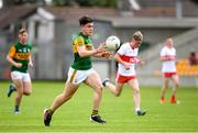 18 July 2021; Oisin Maunsell of Kerry during the 2020 Electric Ireland GAA Football All-Ireland Minor Championship Final match between Derry and Kerry at Bord Na Mona O'Connor Park in Tullamore. Photo by Matt Browne/Sportsfile