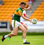 18 July 2021; William Shine of Kerry during the 2020 Electric Ireland GAA Football All-Ireland Minor Championship Final match between Derry and Kerry at Bord Na Mona O'Connor Park in Tullamore. Photo by Matt Browne/Sportsfile