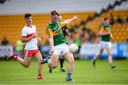 18 July 2021; Aaron O'Shea of Kerry scores a point against Derry during the 2020 Electric Ireland GAA Football All-Ireland Minor Championship Final match between Derry and Kerry at Bord Na Mona O'Connor Park in Tullamore. Photo by Matt Browne/Sportsfile