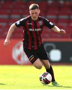 18 July 2021; Jamie Mullins of Bohemians during the SSE Airtricity League Premier Division match between Bohemians and Longford Town at Dalymount Park in Dublin. Photo by Michael P Ryan/Sportsfile