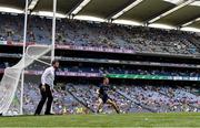 18 July 2021; Dublin goalkeeper Evan Comerford during the Leinster GAA Senior Football Championship Semi-Final match between Dublin and Meath at Croke Park in Dublin. Photo by Harry Murphy/Sportsfile