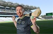 20 July 2021; John West Féile Ambassador and Limerick Hurler Cian Lynch in attendance at the launch of John West Féile, 2021 at Croke Park in Dublin. The 2021 John West Féile na nGael hurling and camogie events will take place across individual counties on August 21, whilst The Féile na nÓg football events will take place on August 28. Under-15 teams will compete for the opportunity to play at Croke Park and Semple Stadium. Photo by Sam Barnes/Sportsfile
