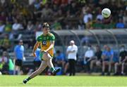 18 July 2021; Michael Langan of Donegal takes a free during the Ulster GAA Football Senior Championship Semi-Final match between Donegal and Tyrone at Brewster Park in Enniskillen, Fermanagh. Photo by Sam Barnes/Sportsfile