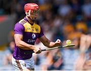 17 July 2021; Lee Chin of Wexford during the GAA Hurling All-Ireland Senior Championship Round 1 match between Clare and Wexford at Semple Stadium in Thurles, Tipperary. Photo by Piaras Ó Mídheach/Sportsfile