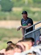 17 July 2021; Armagh selector Kieran Donaghy during the Ulster GAA Football Senior Championship Semi-Final match between Armagh and Monaghan at Páirc Esler in Newry, Down. Photo by Sam Barnes/Sportsfile