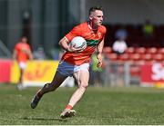17 July 2021; Ciaron O'Hanlon of Armagh during the Ulster GAA Football Senior Championship Semi-Final match between Armagh and Monaghan at Páirc Esler in Newry, Down. Photo by Sam Barnes/Sportsfile