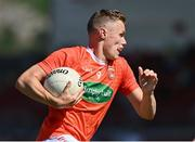 17 July 2021; Oisin O'Neill of Armagh during the Ulster GAA Football Senior Championship Semi-Final match between Armagh and Monaghan at Páirc Esler in Newry, Down. Photo by Sam Barnes/Sportsfile