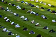 20 July 2021; A general view of Croke Park during the celebration of Eid Al-Adha at Croke Park in Dublin. Photo by Ray McManus/Sportsfile