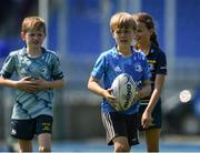 20 July 2021; Toby Enright at the Bank of Ireland Leinster Rugby Summer Camp at Energia Park in Dublin. Photo by Daire Brennan/Sportsfile