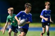 20 July 2021; Ruairí Vaudin at the Bank of Ireland Leinster Rugby Summer Camp at Energia Park in Dublin. Photo by Daire Brennan/Sportsfile