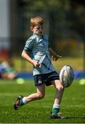 20 July 2021; Tommy Asple at the Bank of Ireland Leinster Rugby Summer Camp at Energia Park in Dublin. Photo by Daire Brennan/Sportsfile