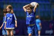 20 July 2021; Lochlann O'Herlihy at the Bank of Ireland Leinster Rugby Summer Camp at Energia Park in Dublin. Photo by Daire Brennan/Sportsfile