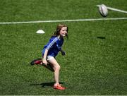 20 July 2021; Sofia McLoughlin at the Bank of Ireland Leinster Rugby Summer Camp at Energia Park in Dublin. Photo by Daire Brennan/Sportsfile