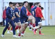 20 July 2021; Ali Price of of British & Irish Lions during Squad Training at Hermanus High School in Western Cape, South Africa. Photo by Ashley Vlotman/Sportsfile