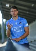 21 July 2021; Dublin Hurler Chris Crummey stands for a portrait at Parnell Park in Dublin as part of an AIG Dublin GAA event to celebrate the 2021 All-Ireland Championships. For great car and home insurance offers check out www.aig.ie. Photo by Sam Barnes/Sportsfile