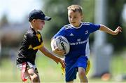21 July 2021; Cormac Carey during the Bank of Ireland Leinster Rugby Summer Camp at Mullingar RFC in Mullingar, Westmeath. Photo by Piaras Ó Mídheach/Sportsfile