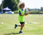 21 July 2021; Noah O'Brien during the Bank of Ireland Leinster Rugby Summer Camp at Mullingar RFC in Mullingar, Westmeath. Photo by Piaras Ó Mídheach/Sportsfile