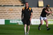 21 July 2021; Kilkenny manager Richie Mulrooney before the Electric Ireland Leinster GAA Minor Hurling Championship Semi-Final match between Kilkenny and Offaly at UPMC Nowlan Park in Kilkenny. Photo by Eóin Noonan/Sportsfile