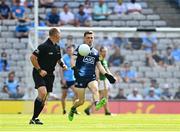 18 July 2021; Dublin goalkeeper Evan Comerford during the Leinster GAA Senior Football Championship Semi-Final match between Dublin and Meath at Croke Park in Dublin. Photo by Eóin Noonan/Sportsfile