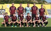 22 July 2021; The Bohemians team before the UEFA Europa Conference League second qualifying round first leg match between F91 Dudelange and Bohemians at Stade Jos Nosbaum in Dudelange, Luxembourg. Photo by Gerry Schmit/Sportsfile