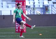 23 July 2021; Robbie Henshaw during the British & Irish Lions Captain's Run at Cape Town Stadium in Cape Town, South Africa. Photo by Ashley Vlotman/Sportsfile