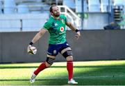 23 July 2021; Captain Alun Wyn Jones during the British & Irish Lions Captain's Run at Cape Town Stadium in Cape Town, South Africa. Photo by Ashley Vlotman/Sportsfile