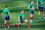 23 July 2021; Duhan van der Merwe, centre, and Stuart Hogg during the British & Irish Lions Captain's Run at Cape Town Stadium in Cape Town, South Africa. Photo by Ashley Vlotman/Sportsfile
