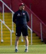 23 July 2021; St Patrick's Athletic head coach Stephen O'Donnell before the FAI Cup First Round match between St. Patrick's Athletic and Bray Wanderers at Richmond Park in Dublin. Photo by David Kiberd/Sportsfile