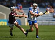 24 July 2021; Dessie Hutchinson of Waterford in action against Darren Morrissey of Galway during the GAA Hurling All-Ireland Senior Championship Round 2 match between Waterford and Galway at Semple Stadium in Thurles, Tipperary. Photo by Harry Murphy/Sportsfile