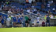 24 July 2021; Conor Gleeson of Waterford, 2, leaves the field after being shown a red card before the start of the second half during the GAA Hurling All-Ireland Senior Championship Round 2 match between Waterford and Galway at Semple Stadium in Thurles, Tipperary. Photo by Ray McManus/Sportsfile