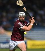 24 July 2021; Joe Canning of Galway scores his 8th point of the game, making him the all-time top scorer in the senior hurling championship moving past former Kilkenny hurler Henry Shefflin, during the GAA Hurling All-Ireland Senior Championship Round 2 match between Waterford and Galway at Semple Stadium in Thurles, Tipperary. Photo by Harry Murphy/Sportsfile