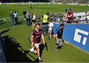 24 July 2021; Joe Canning of Galway walks down the tunnell after his side's defeat in the GAA Hurling All-Ireland Senior Championship Round 2 match between Waterford and Galway at Semple Stadium in Thurles, Tipperary. Photo by Harry Murphy/Sportsfile