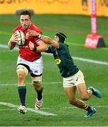 24 July 2021; Jack Conan of the British and Irish Lions is tackled by Cheslin Kolbe of South Africa during the first test of the British and Irish Lions tour match between South Africa and British and Irish Lions at Cape Town Stadium in Cape Town, South Africa. Photo by Ashley Vlotman/Sportsfile