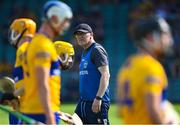 23 July 2021; Clare manager Brian Lohan before the GAA Hurling All-Ireland Senior Championship Round 2 match between Clare and Cork at LIT Gaelic Grounds in Limerick. Photo by Piaras Ó Mídheach/Sportsfile