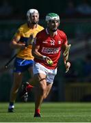 23 July 2021; Shane Kingston of Cork gets past Conor Cleary of Clare during the GAA Hurling All-Ireland Senior Championship Round 2 match between Clare and Cork at LIT Gaelic Grounds in Limerick. Photo by Piaras Ó Mídheach/Sportsfile
