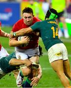 24 July 2021; Jack Conan of British and Irish Lions is tackled by Cheslin Kolbe of South Africa during the first test of the British and Irish Lions tour match between South Africa and British and Irish Lions at Cape Town Stadium in Cape Town, South Africa. Photo by Ashley Vlotman/Sportsfile