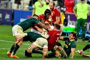 24 July 2021; A general view of action during the first test of the British and Irish Lions tour match between South Africa and British and Irish Lions at Cape Town Stadium in Cape Town, South Africa. Photo by Ashley Vlotman/Sportsfile