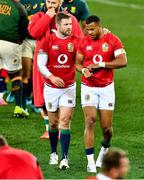 24 July 2021; Elliot Daly, left, and Anthony Watson of British and Irish Lions after the first test of the British and Irish Lions tour match between South Africa and British and Irish Lions at Cape Town Stadium in Cape Town, South Africa. Photo by Ashley Vlotman/Sportsfile