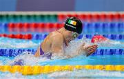 25 July 2021; Mona McSharry of Ireland in action during the heats of the women's 100 metre breaststroke at the Tokyo Aquatics Centre during the 2020 Tokyo Summer Olympic Games in Tokyo, Japan. Photo by Ian MacNicol/Sportsfile