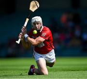 23 July 2021; Patrick Horgan of Cork shoots to score his side's second point during the GAA Hurling All-Ireland Senior Championship Round 2 match between Clare and Cork at LIT Gaelic Grounds in Limerick. Photo by Piaras Ó Mídheach/Sportsfile