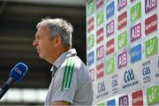 25 July 2021; Kerry manager Peter Keane before the Munster GAA Football Senior Championship Final match between Kerry and Cork at Fitzgerald Stadium in Killarney, Kerry. Photo by Eóin Noonan/Sportsfile