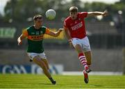 25 July 2021; Ian Maguire of Cork in action against Jack Barry of Kerry during the Munster GAA Football Senior Championship Final match between Kerry and Cork at Fitzgerald Stadium in Killarney, Kerry. Photo by Eóin Noonan/Sportsfile