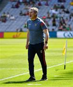 25 July 2021; Mayo manager James Horan near the end of the Connacht GAA Senior Football Championship Final match between Galway and Mayo at Croke Park in Dublin. Photo by Ray McManus/Sportsfile
