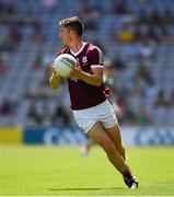 25 July 2021; Johnny Heaney of Galway during the Connacht GAA Senior Football Championship Final match between Galway and Mayo at Croke Park in Dublin. Photo by Ray McManus/Sportsfile