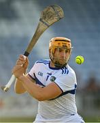 24 July 2021; Enda Rowland of Laois during the Allianz Hurling League Division 1 Relegation Play-off match between Laois and Westmeath at MW Hire O'Moore Park in Portlaoise, Co Laois. Photo by Harry Murphy/Sportsfile