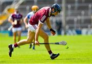 24 July 2021; Sean Loftus of Galway during the GAA Hurling All-Ireland Senior Championship Round 2 match between Waterford and Galway at Semple Stadium in Thurles, Tipperary. Photo by Ray McManus/Sportsfile