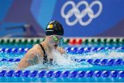 26 July 2021; Mona McSharry of Ireland in action during the Women's 100 metre breaststroke semi-final at the Tokyo Aquatics Centre during the 2020 Tokyo Summer Olympic Games in Tokyo, Japan. Photo by Ian MacNicol/Sportsfile