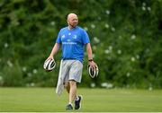 26 July 2021; Kitman Jim Bastick during Leinster Rugby squad training at UCD in Dublin. Photo by Harry Murphy/Sportsfile